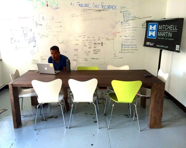 We've created a dynamic co-working space, because in the startup world, #collaboration is key. http://t.co/D7L65Mygox
