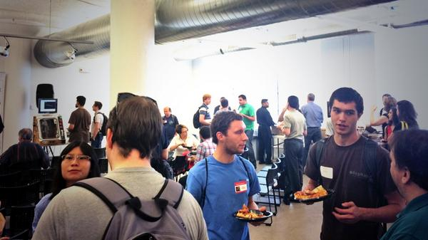 Awesome crowd tonight for @autodesk #RealityComputing meetup! http://t.co/A1Jvd6cvJk