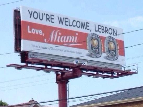 ESPN suspends Dan LeBatard for his LeBron James billboard
