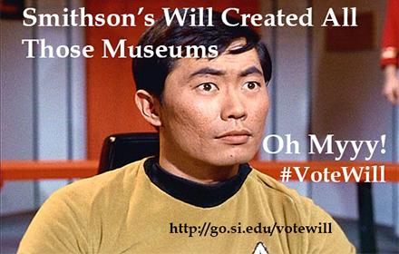 .@GeorgeTakei , that's 19 museums. #VoteWill as most iconic @Smithsonian ! http://t.co/KHmbQe1p5w #SIshowdown http://t.co/wQovuvz1Xe