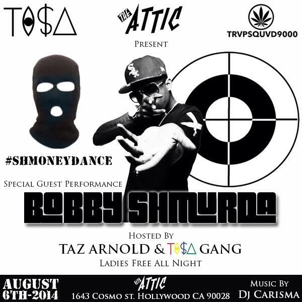 TONIGHT TI$A GANG @TAZARNOLD @BobbyShmurdaGS9 #TISALOVETHELADIES http://t.co/h5ivg6tR8L