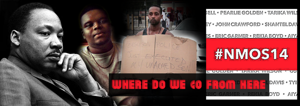 ➨ ❝Where do we go from here?❞ 47-years later & we still have no answer #MLK #Freguson #NMOS14 http://t.co/HZAkpqFLgm http://t.co/Gad9hjZZmb