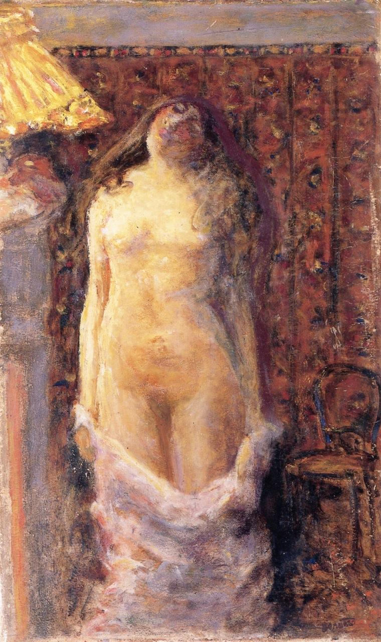 Nude with Lamp