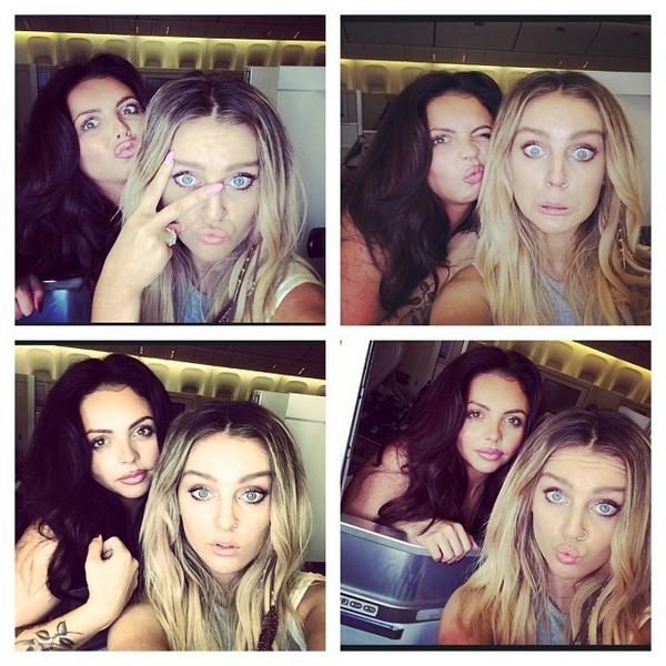 Jesy Nelson And Perrie Edwards Perrie and Jesy on Ins...