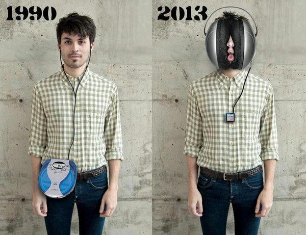 Portable music in the 90's vs today http://t.co/KHW91Ngx3O