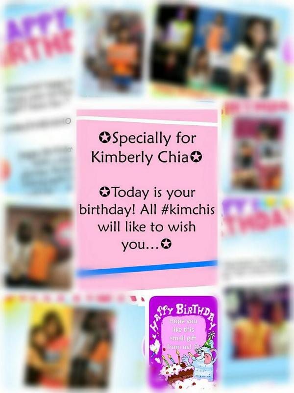 @kimberly_chia #Kimchis know that u will receive their blessings with