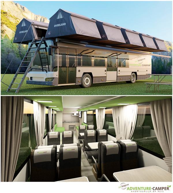 kiel design on twitter project voor adventure camper bus exterieur interieur camping reizen vakantie adventure camper overland 3d
