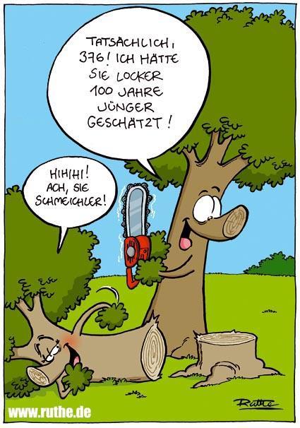 Ralph ruthe on twitter einer der ersten baum cartoons - Baum comic bilder ...