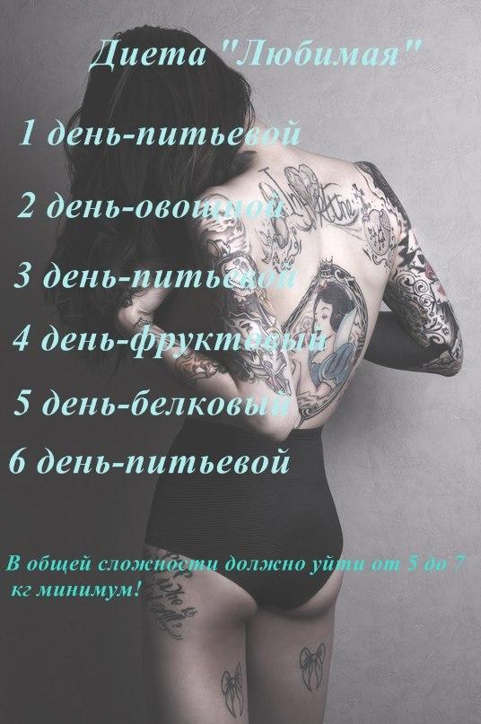 Автор Диеты Любимая.