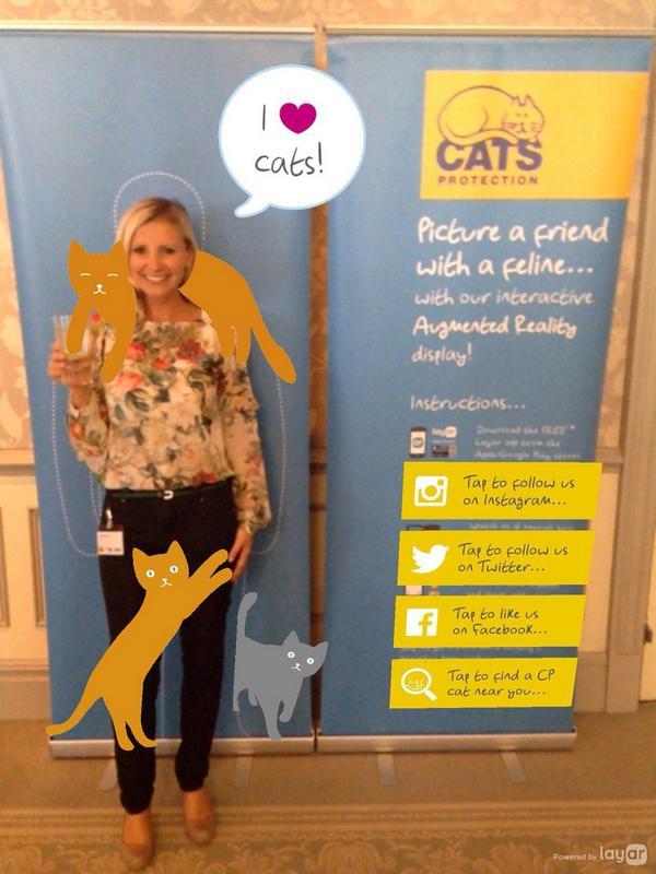 Hero Cat Judge @carleystenson at #CPCatAwards http://t.co/RczgtgiLWm