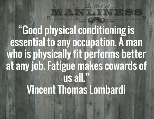 Art Of Manliness On Twitter Fatigue Makes Cowards Of Us All