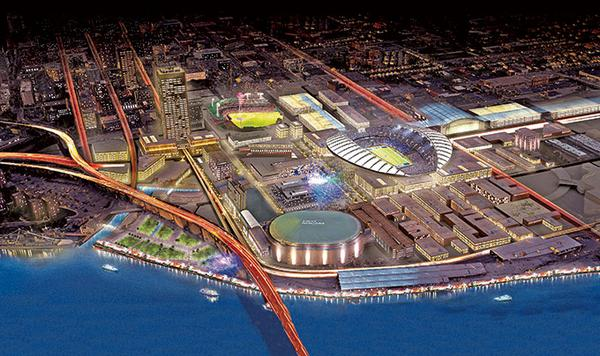 Our Downtown Stadium: If done right, could be a catalyst for billions in new development: http://t.co/qqmH6PxvAG http://t.co/zSeucoDsN8