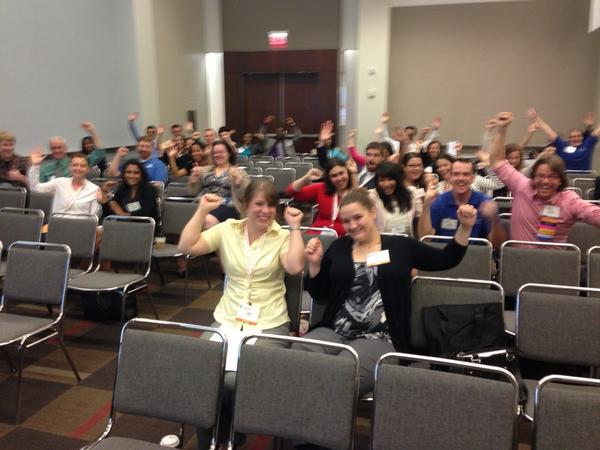 Look at all these student and resident leaders #choosingwisely at #aafpnc !! http://t.co/k9fGmo81FS