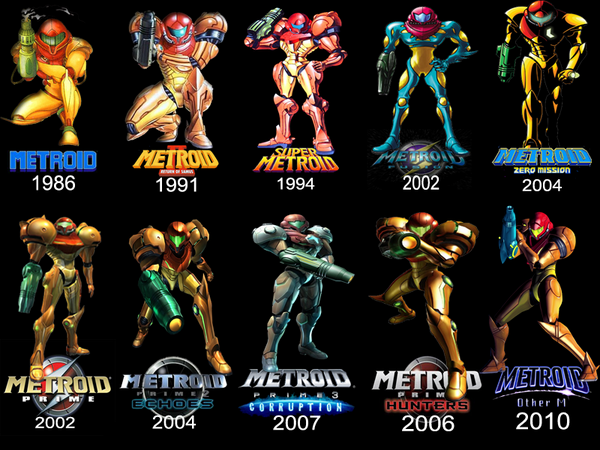 Yesterday, #Metroid turned 28!! Happy Birthday, Samus! Which game did you enjoy the most over the years? http://t.co/OkLt94Mwd2