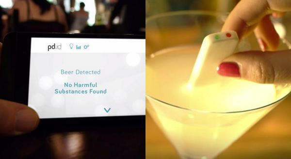 pd.id @PersonalDrinkID tests your beer, wine & cocktail for the date rape drug #indiegogo http://t.co/e8I9CMrdfv http://t.co/akFdbMKWA4