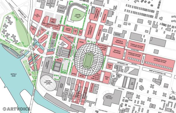 A more detailed look at #TheArtvoicePlan for a new Downtown @BuffaloBills stadium: http://t.co/38QTlVTwu1