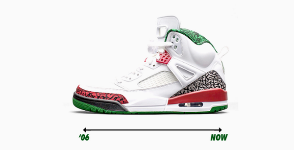 bfd694517eb532 The first Spizike colorway is set to retro soon. Check out a history of the  model here → http   nicek.is 1tXmBh2 pic.twitter.com cVuiBNvvWB