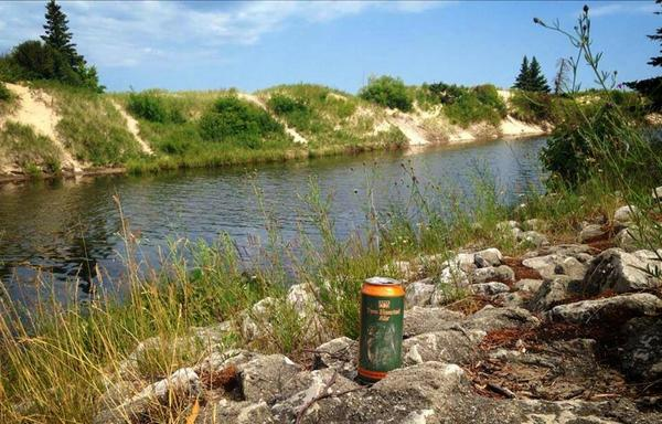 Couldn't think of a better photo to share for #IPADay than of #TwoHearted on the Two Hearted River - Cheers! http://t.co/8enTFKmpCM