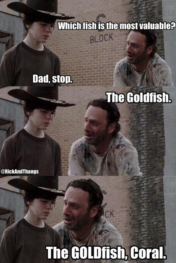 rick grimes on twitter quotthe goldfish coral