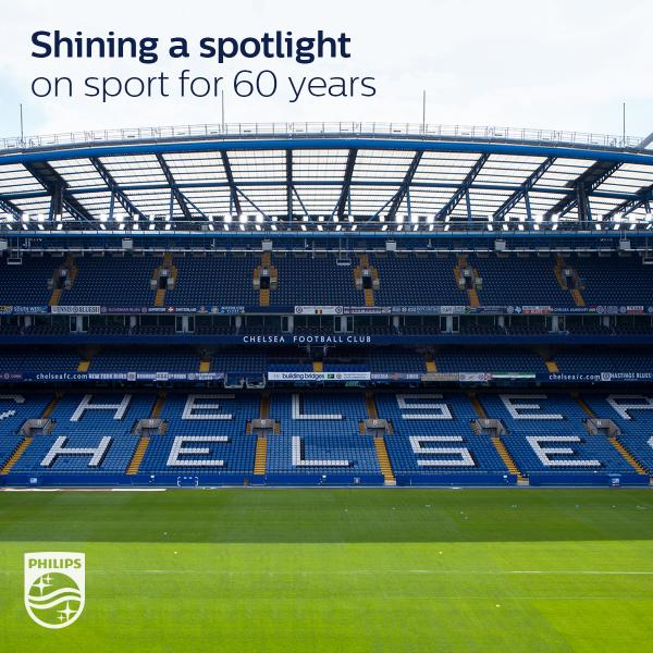 Introducing the world's first top club to use LED floodlights @chelseafc #FutureOfLight http://t.co/daQb9BNsXX
