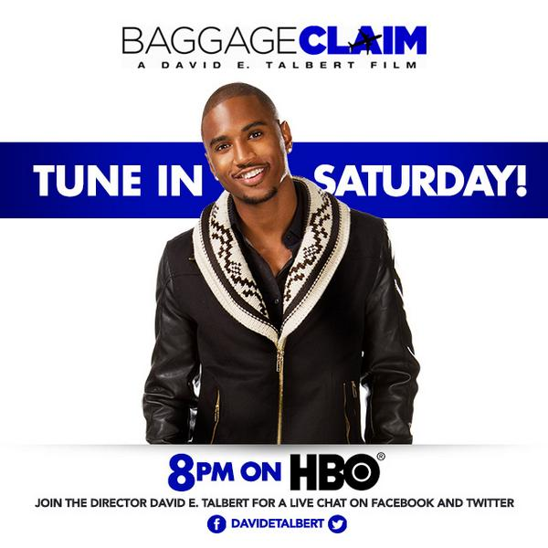 See my man @TreySongz as Damon Diesel in #BaggageClaim. This Saturday on @HBO #AngelLove #TreysAngels http://t.co/92wdfIqfQx