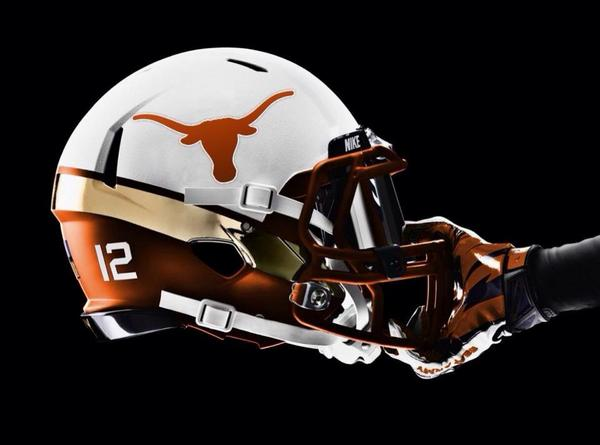 Would you want to see new Texas Football uniforms? Here's a CONCEPT helmet design a fan came across. (H/t @BigHec01) http://t.co/2LWb5gSt9T