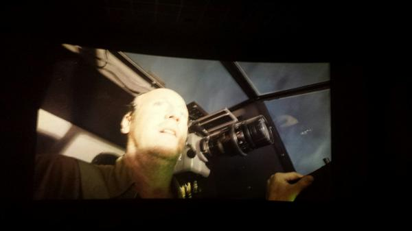 "Whoa... the tank just got sucked into the stratosphere.  from the audience (all 10 of us): ""dang....."" http://t.co/GSy66DbHFO"