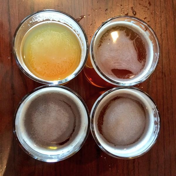 Flavour cave of IPA @BarkervilleBeer @FugglesWarlock @Parallel49Beer @YellowDogBeer at @StAugustinesVan #IPADay http://t.co/mbs44IddwF