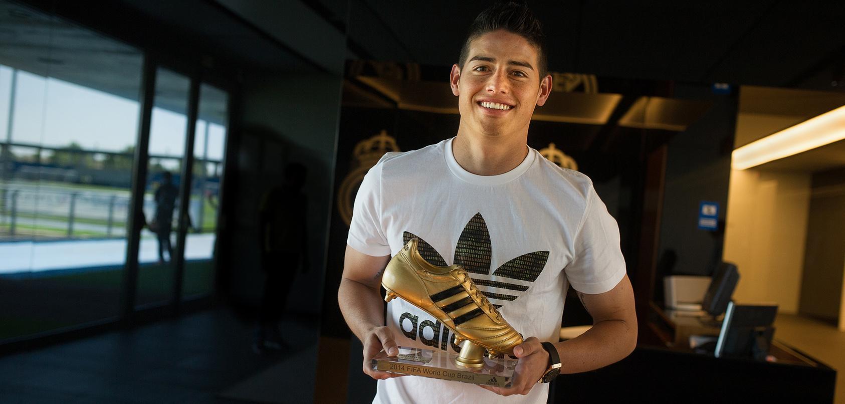Хамес Родригес получил Золотую бутсу - изображение 2