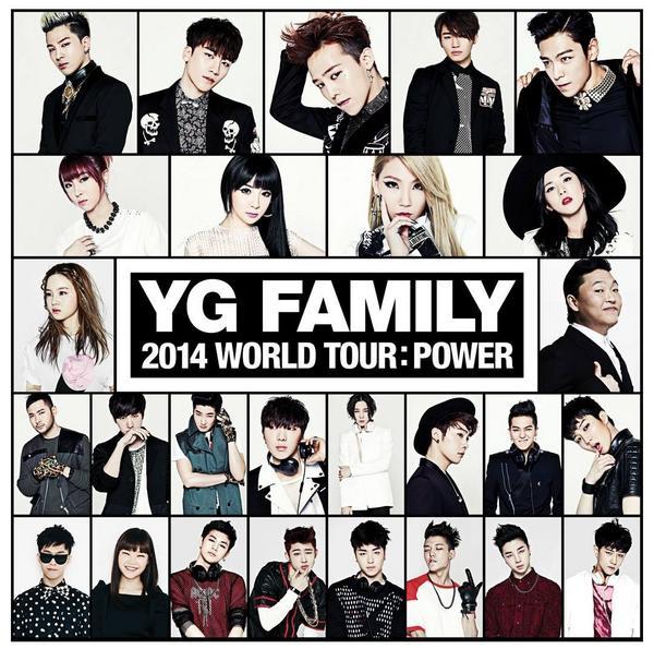 YG Family 2014 WORLD TOUR   POWER IN SEOULYg Family 2014