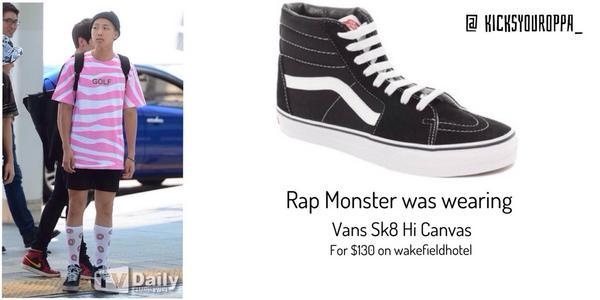 how to wear vans sk8 hi