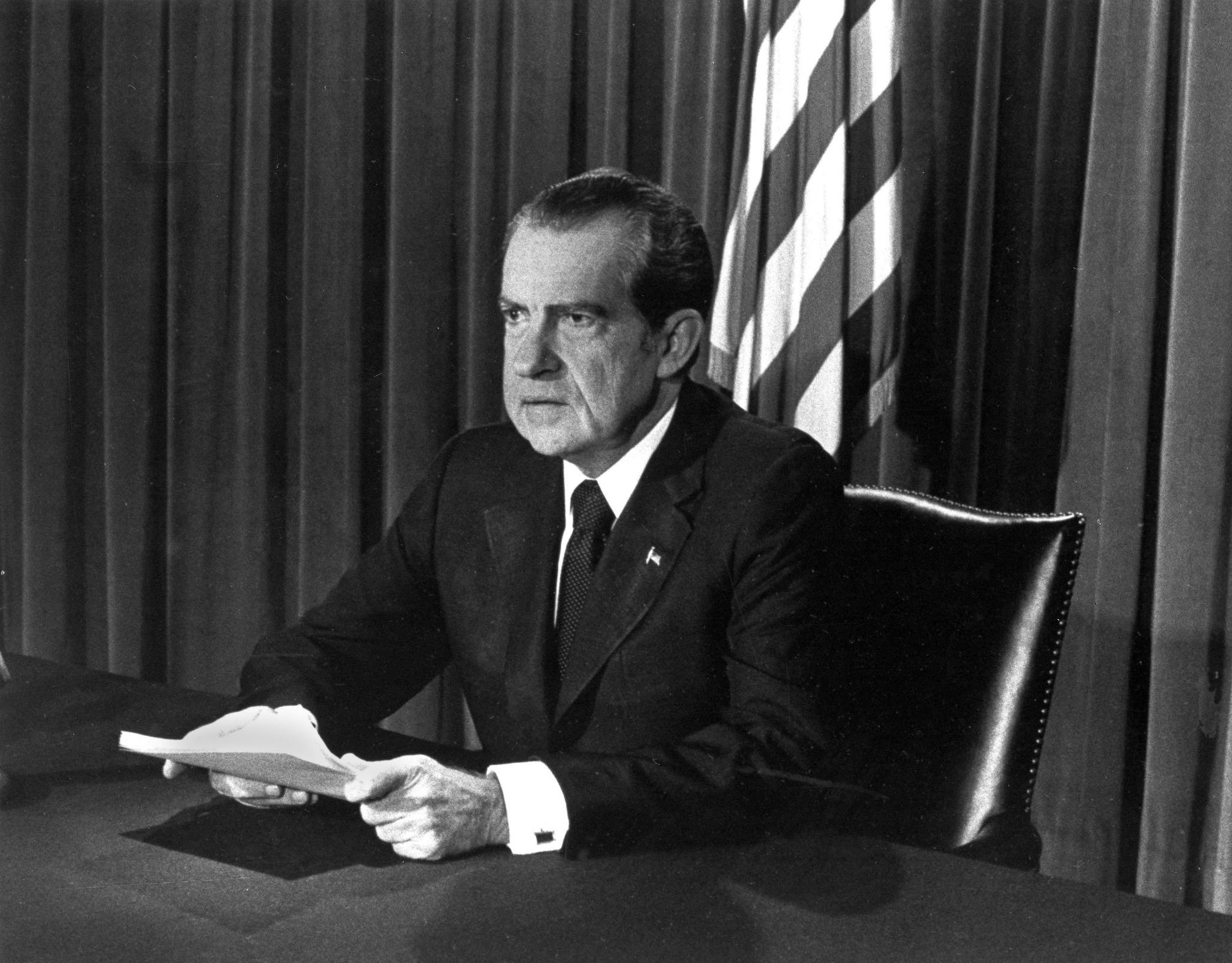 how personality defeated president nixons resignation By identifying himself with a policy whose purpose was inflation's defeat, nixon  resignation speech of president richard nixon, delivered august 8, 1974.