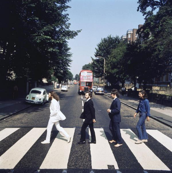 8th August '69. An unused shot taken for the cover of Abbey Road. See the rest at http://t.co/iFlRd3f48k http://t.co/SaoyJwW8s5