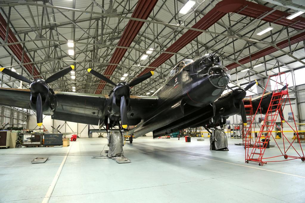 RT @RoyalAirForceUK: Thumper waits for Vera. Later today the Lancaster from BBMF will escort the Canadian Lancaster to her spiritual home h…