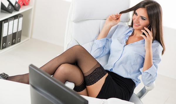 Sekretärin Nacktfotos