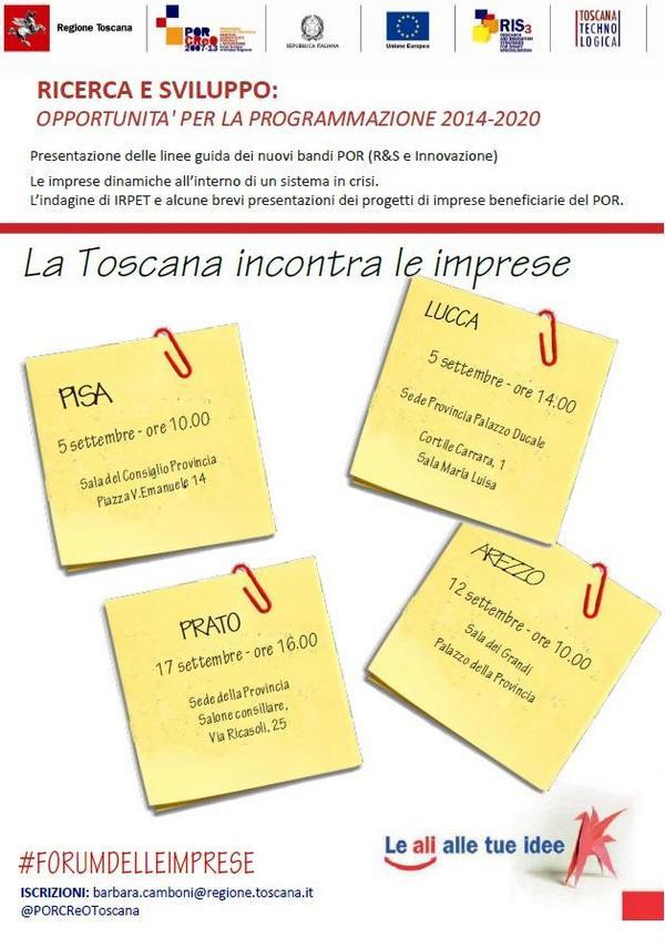 Thumbnail for La Toscana incontra le imprese