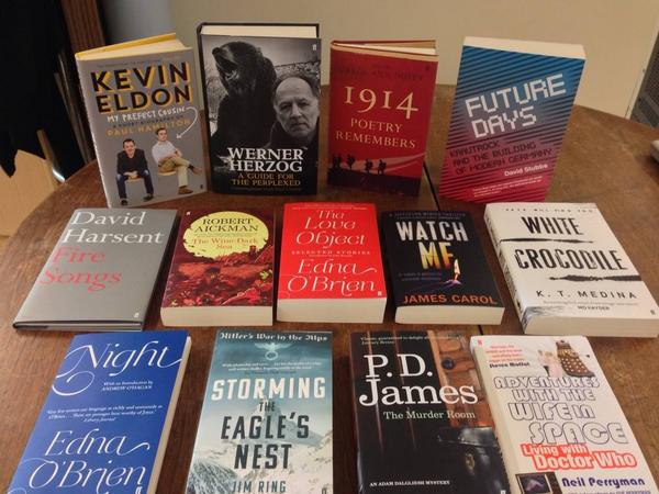 Competition time! We're giving away all of this week's new books. RT to win, closes at 4pm. http://t.co/oeLz55bRTi
