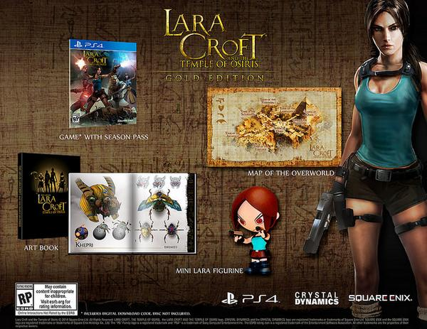 The Lara Croft and the Temple of Osiris Gold Edition