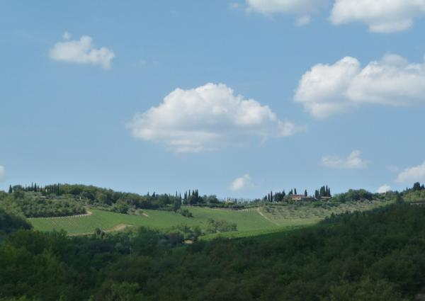 One cannot tire of views like these!  I feel so fortunate. #Tuscany http://t.co/hxWlCg6O3I