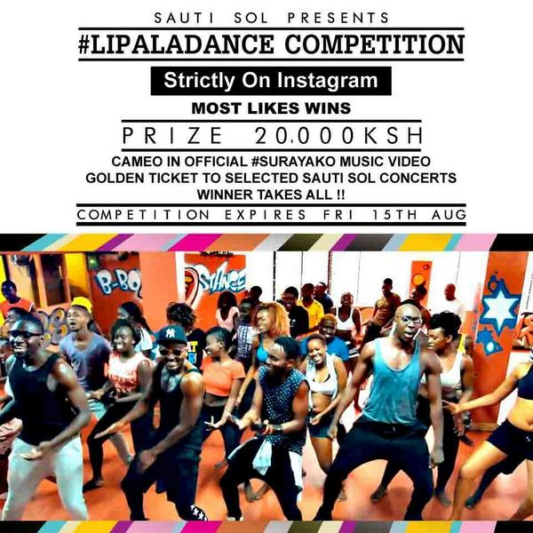 Sauti Sol Lipala Dance Competition