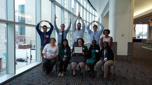 Congrats OSU FMIG on your Program of Excellence award! Ohio is proud! O-H- #AAFPNC @doctorakelso21 http://t.co/jo6dpaewpE