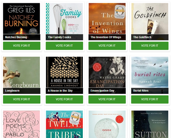 Last day! Vote for your Fave Summer Reads & be entered to win a $50 @chaptersindigo giftcard http://t.co/3mP0uk8Boc http://t.co/O1ak8wSI8s