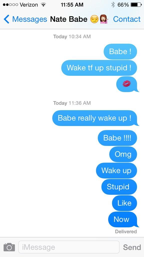 How to wake a heavy sleeper