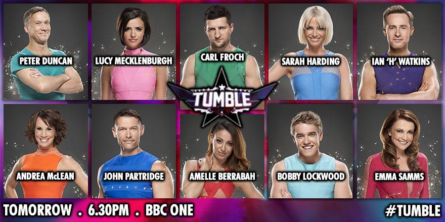 Tumble - 6.30pm BBC One 9/8/14 - Full Twist