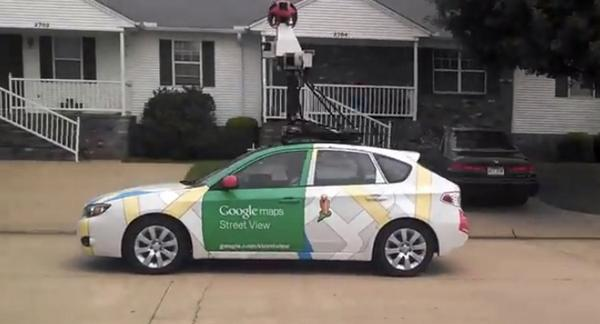 Google Voiture Google Street View Prend Sens Inverse Cause