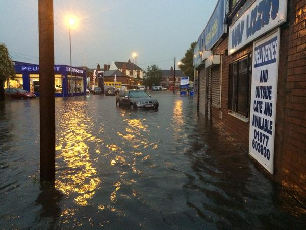 Bingley floods photos
