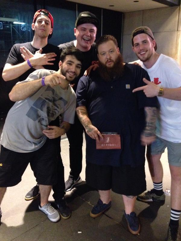 @ActionBronson hanging with my chef crew! Bringing a little something home! @olivialy http://t.co/qSuaR1QQJy