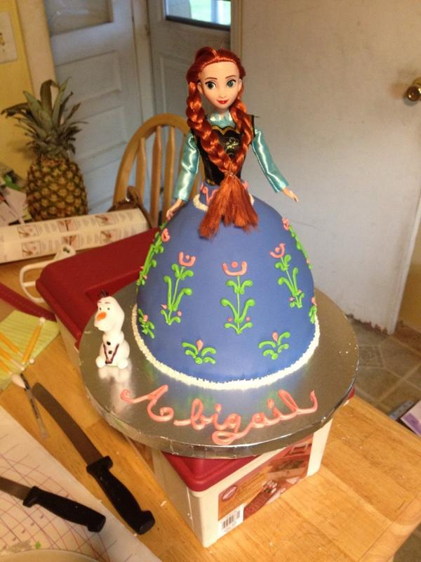Tinas Cake Emporium On Twitter Happy Birthday Abigail Frozen