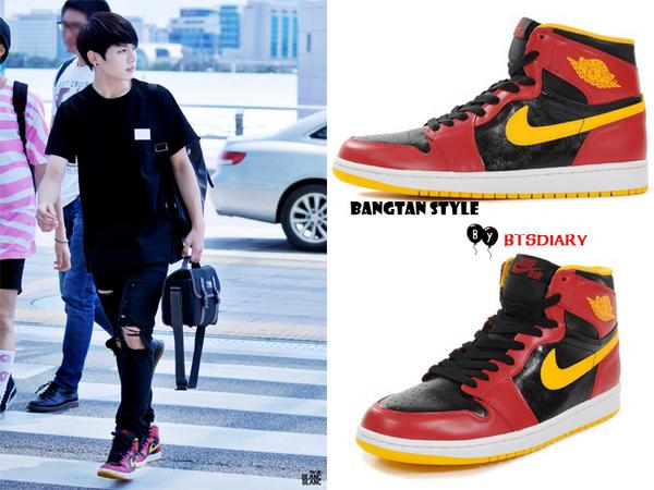 ... gs ba32b d7147 discount marimo on twitter btsdiary bangtan style 140808  jungkook heading to la nike air jordan 1 uk air jordan 1 retro high og ... b71e3dd8c05f
