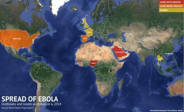 ประเทศไทย ถูกปรับสถานะ เป็นสีเหลือง เฝ้าระวัง อีโบล่า !!!!   http://t.co/pHWI8DAO4B   ขุ่นพระ !!!!!!!!!!!!!
